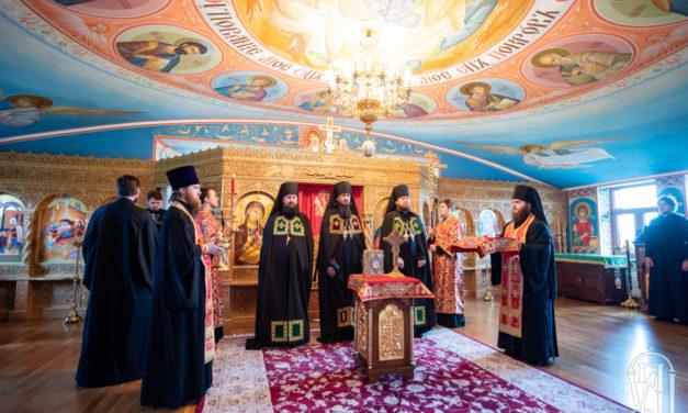 Предстоятель очолив чин наречення архімандрита Антонія (Пухкана) в єпископа Корсунь-Шевченківського