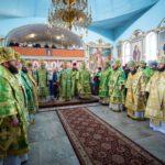 Архієпископ Феодосій співслужив Предстоятелю на урочистостях з нагоди прославлення святих в Олександрії