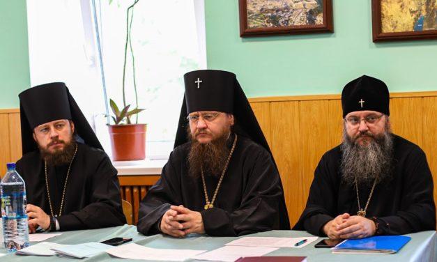 Архиепископ Феодосий принял участие в заседании Ученого совета Киевской духовной академии