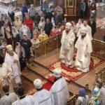 Архиепископ Феодосий возглавил праздничное богослужение в честь Вознесения Господня