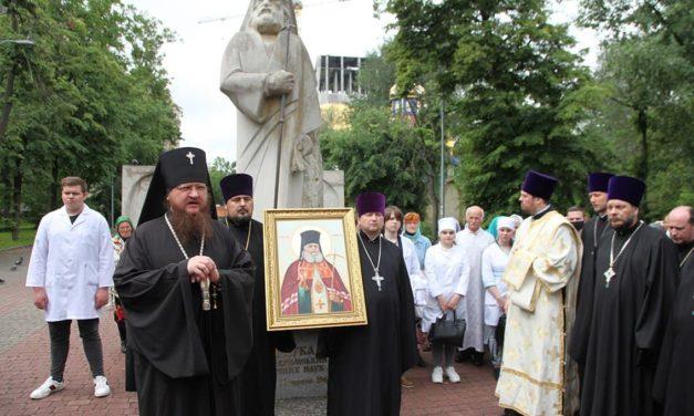 Архиепископ Феодосий возглавил торжества по случаю дня памяти святителя Луки (Войно-Ясенецкого)