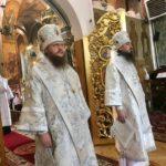 Архієпископ Черкаський і Канівський Феодосій очолив Літургію у Неділю 7-му після Пасхи
