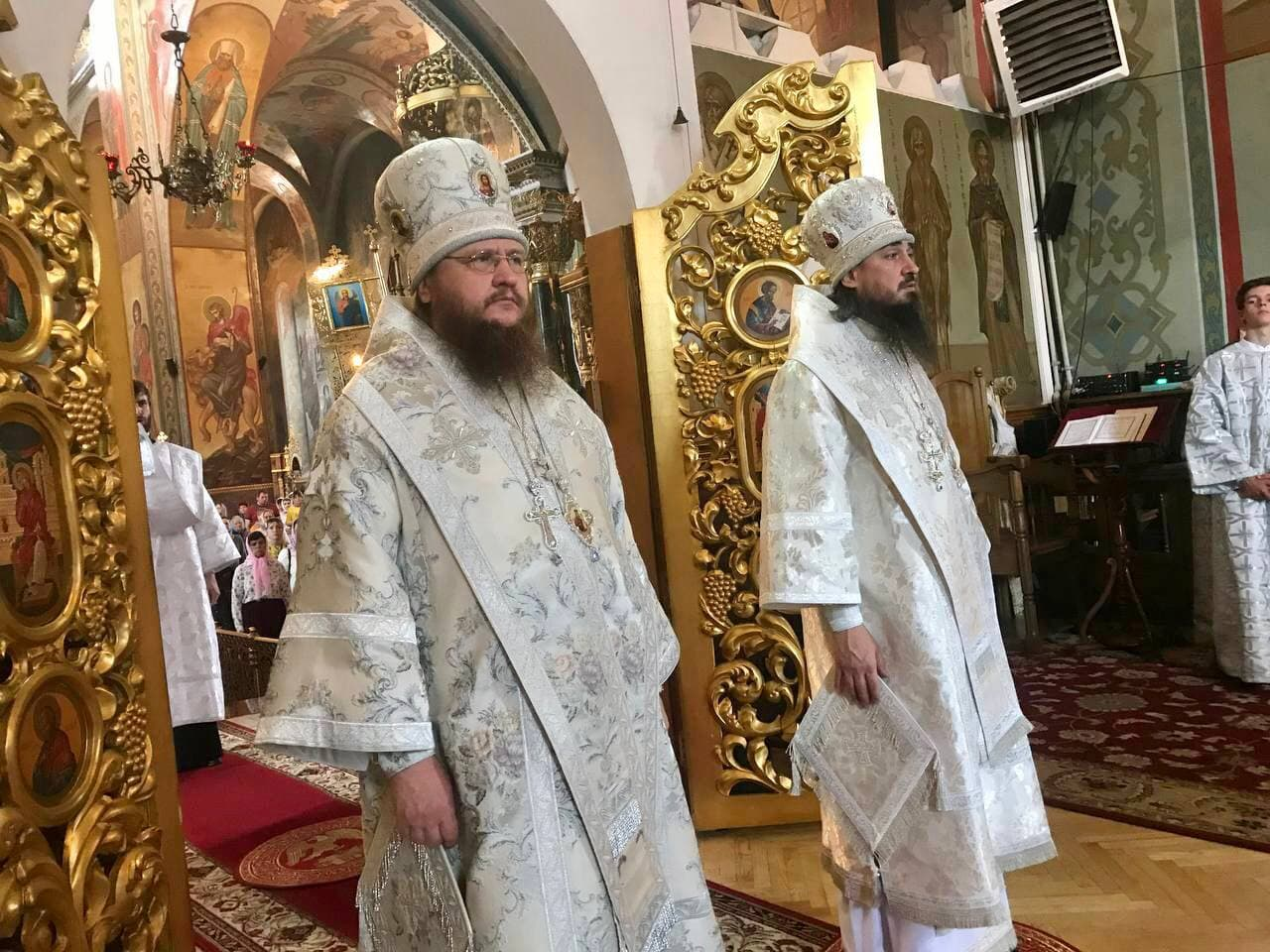 Архиепископ Черкасский и Каневский Феодосий возглавил Литургию в Неделю 7-ю по Пасхе
