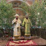 Архієпископ Черкаський і Канівський Феодосій очолив всенічне бдіння напередодні Дня Святої Трійці