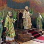 Архієпископ Феодосій очолив святкове богослужіння в День Святої Трійці