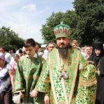 Єпископ Корсунь-Шевченківський Антоній очолив престольне свято Свято-Троїцького Мотронинського жіночого монастиря