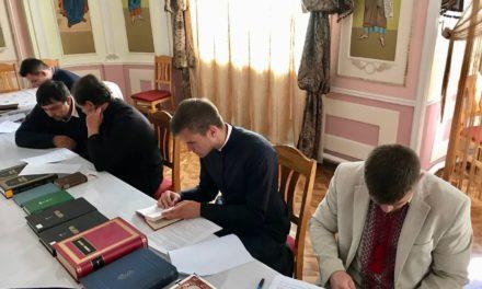 В Черкасской епархии проведен ставленнический экзамен для кандидатов в священный сан