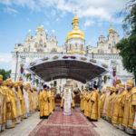 Напередодні свята Хрещення Русі архієпископ Феодосій співслужив Предстоятелю у Києво-Печерській Лаврі