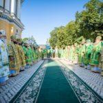 У день пам'яті прп.Антонія Печерського архієпископ Феодосій співслужив Предстоятелю у Києво-Печерський Лаврі (+ВІДЕО)