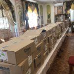 Черкаська єпархія благодійно передала медикаменти в ряд лікарень Черкас