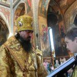 Літургія в Неділю 3-ю після П'ятидесятниці в Архангело-Михайлівському кафедральному соборі м.Черкаси