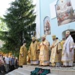 Соборне архієрейське богослужіння в Золотоніському жіночому монастирі