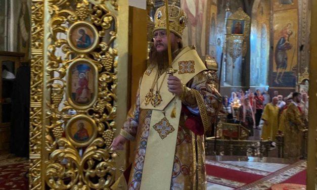 Архиепископ Черкасский и Каневский Феодосий возглавил всенощное бдение накануне Недели 4-й по Пятидесятнице