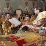Архієпископ Феодосій вшанував пам'ять преподобного Сергія Радонезького та висвятив іще одного клірика для Черкаської єпархії
