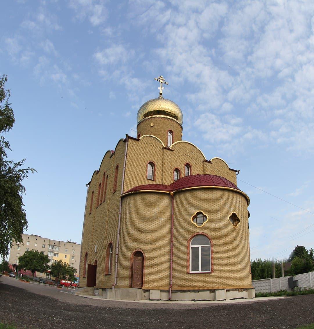В Черкаській єпархії освячено новий храм на честь святої вмч.Варвари