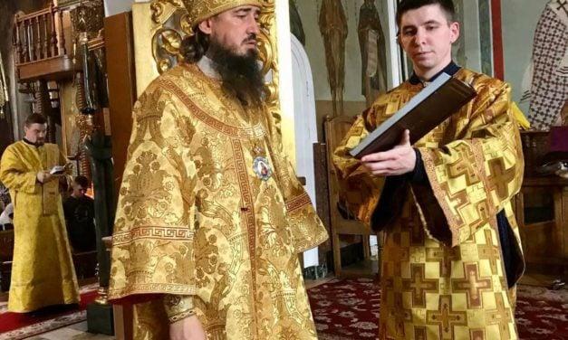 Літургія в Неділю 5-ту після П'ятидесятниці в Архангело-Михайлівському кафедральному соборі м.Черкаси (+ВІДЕО)