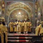 Архиепископ Черкасский и Каневский Феодосий возглавил всенощное бдение накануне Недели 7-й по Пятидесятнице