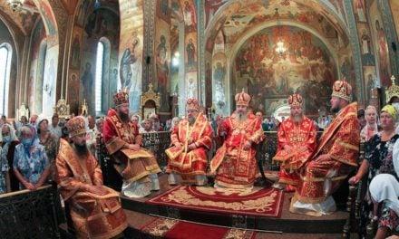 В Черкассах состоялось соборное архиерейское богослужение в память святого великомученика Пантелеимона и по случаю 29-летия образования Черкасской епархии