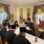 Под председательством архиепископа Феодосия состоялось заседание Пенсионно-попечительского Совета Черкасской епархии