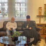 Архиепископ Черкасский и Каневский Феодосий встретился с представителем ОС «Миряне» в Черкассах