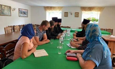 Відбулося спільне засідання Місіонерського відділу та Відділу з катехізації Черкаської єпархії