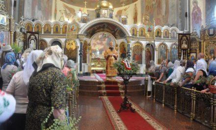 Літургія в день свята Походження Чесних Древ Хреста Господнього в Архангело-Михайлівському кафедральному соборі Черкас (+ВІДЕО)