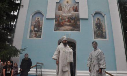 Єпископ Корсунь-Шевченківський Антоній очолив престольне свято Свято-Покровського Красногірського жіночого монастиря