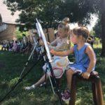 В Черкасской епархии провели мастер-класс по рисованию и живописи (+ВИДЕО)