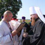 Состоялась торжественная встреча митрополита Феодосия на Черкасщине