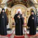 Духовенство и прихожане в кафедральном соборе Черкасс поздравили своих архиереев с повышением в сане