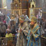 Митрополит Черкасский и Каневский Феодосий возглавил всенощное бдение накануне праздника Успения Пресвятой Богородицы