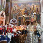 На Успение Пресвятой Богородицы митрополит Феодосий служил в самом древнем кафедральном соборе времен Киевской Руси