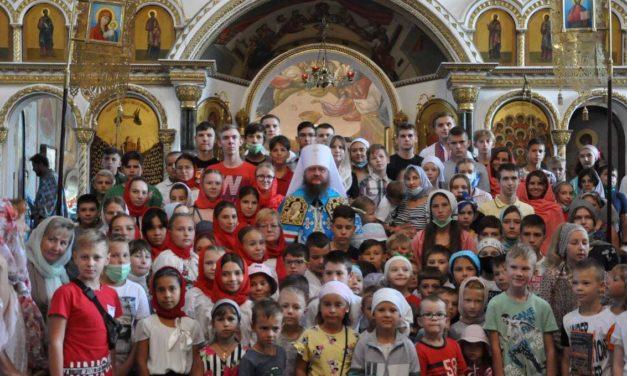 Митрополит Феодосий благословил детей и учеников Черкасс на новый учебный год