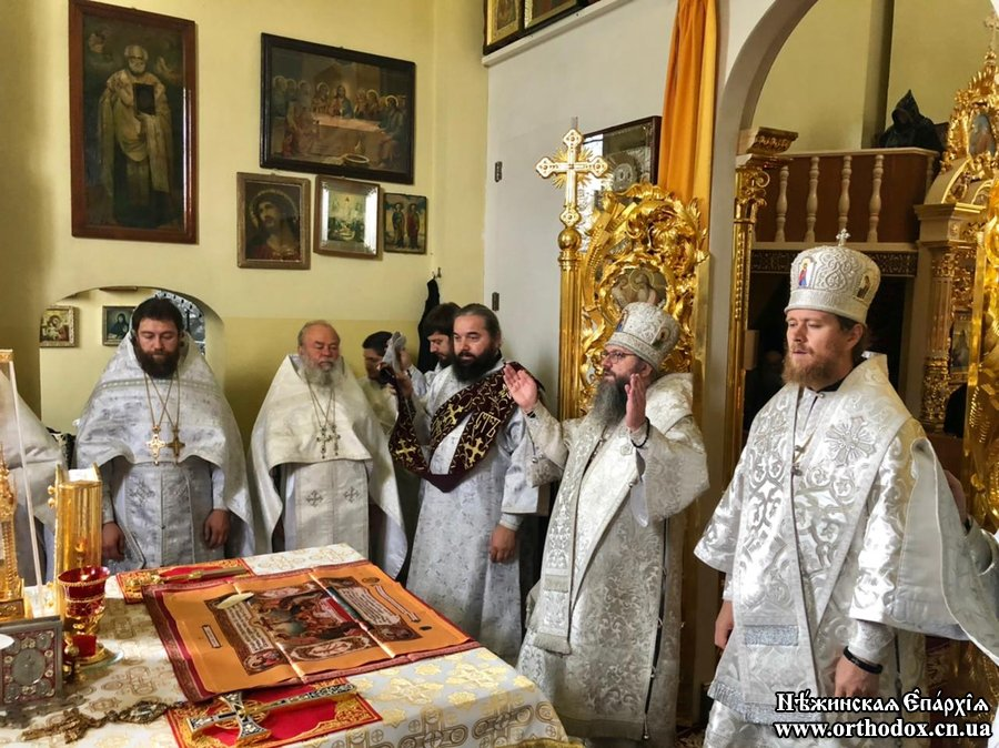 Митрополит Климент очолив заупокійне богослужіння в Золотоніському Красногірському монастирі Черкаської єпархії