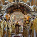 Митрополит Черкасский и Каневский Феодосий возглавил Литургию в Неделю 12-ю по Пятидесятнице
