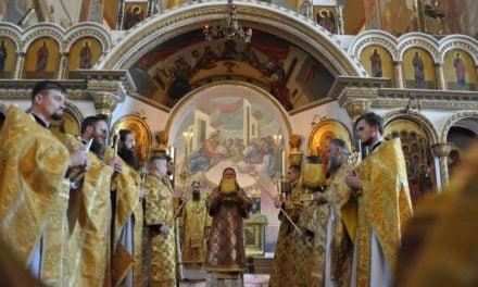 Митрополит Черкаський і Канівський Феодосій очолив Літургію у Неділю 12-ту після П'ятидесятниці