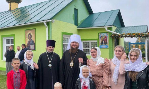 Голова Черкаського єпархіального відділу у справах сім'ї відмітив 20-річчя своєї багатодітної родини