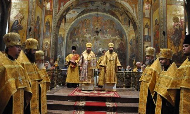 Митрополит Черкаський і Канівський Феодосій очолив всенічне бдіння напередодні Неділі 13-ї після П'ятидесятниці