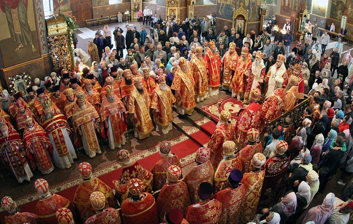 У Черкасах соборно відзначили пам'ять небесного покровителя краю преподобномученика Макарія