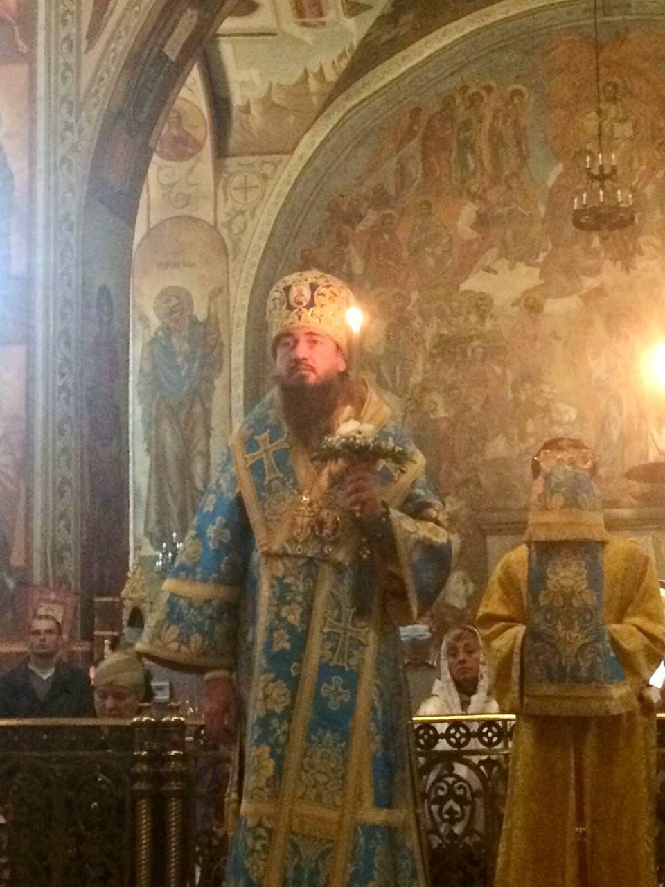 Всенощное бдение накануне праздника Рождества Пресвятой Богородицы в Архангело-Михайловском кафедральном соборе г.Черкассы