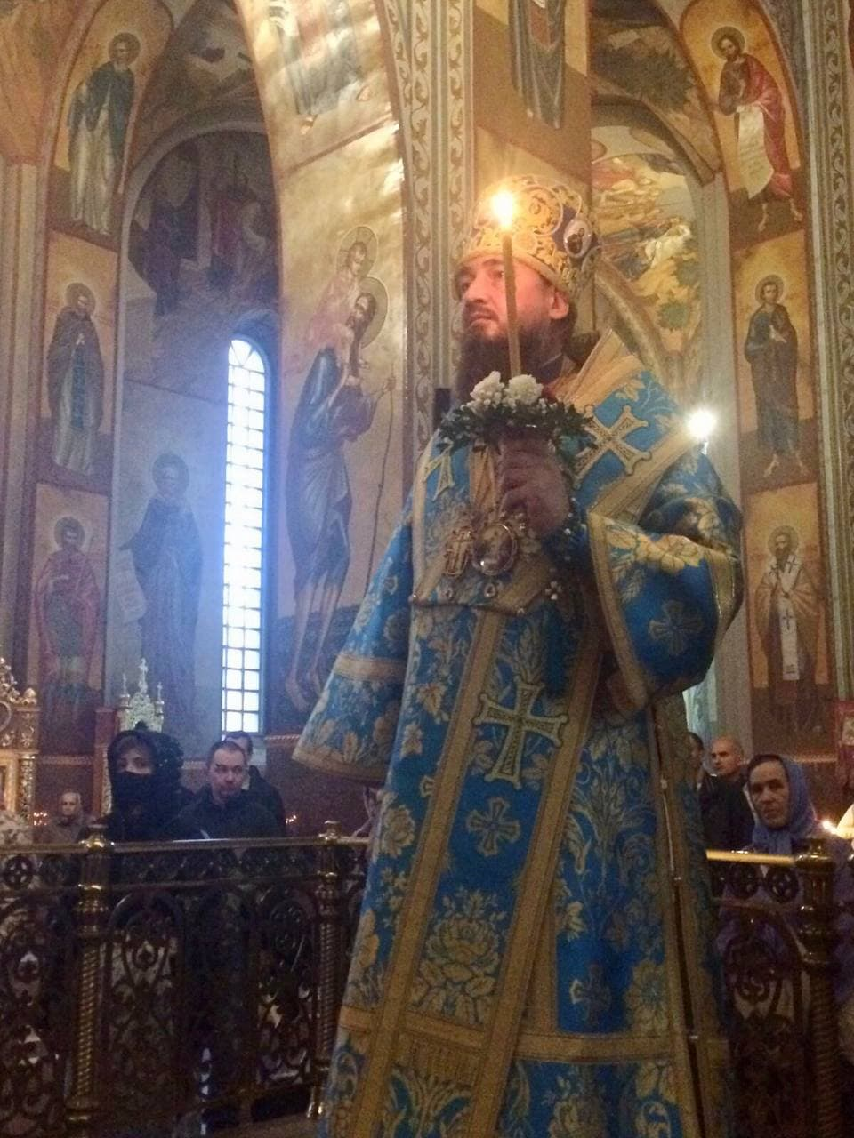 Всенічне бдіння напередодні свята Різдва Пресвятої Богородиці в Архангело-Михайлівському кафедральному соборі м.Черкаси