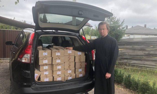 Черкасская епархия благотворительно передала медикаменты в больницы Черкасс