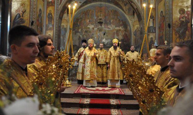 Митрополит Черкасский и Каневский Феодосий возглавил всенощное бдение накануне Недели 14-й по Пятидесятнице