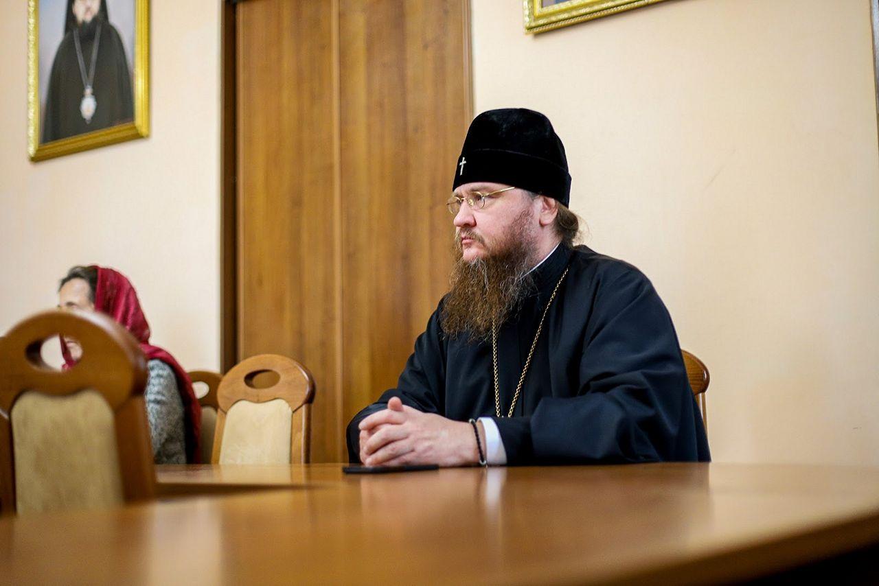 Митрополит Черкаський і Канівський Феодосій взяв участь в засіданні кафедри церковно-практичних дисциплін КДАіС