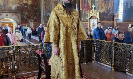 Літургія в Неділю 16-ту після П'ятидесятниці в Архангело-Михайлівському кафедральному соборі м.Черкаси