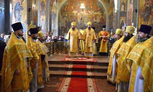 Митрополит Черкаський і Канівський Феодосій очолив Літургію у Неділю 17-ту після П'ятидесятниці в Архангело-Михайлівському кафедральному соборі м.Черкаси